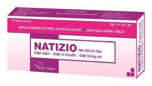 thuốc đặt viêm lộ tuyến natizio