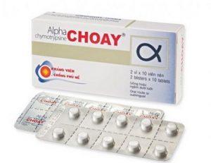 alpha-choay được sử dụng khá phổ biến tại Việt Nam