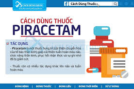 Cách dùng thuốc Piracetam