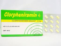 Clorpheniramin là thuốc gì?