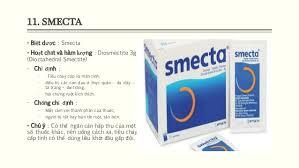 Tác cụng của thuốc smecta