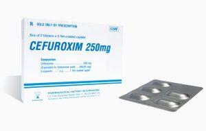 thuốc cefuroxim chống chỉ định